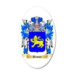 Brwme 20x12 Oval Wall Decal