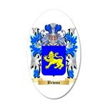 Brwme 35x21 Oval Wall Decal
