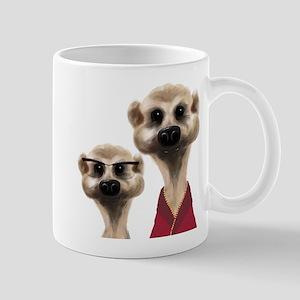 Large Meerkat Mugs