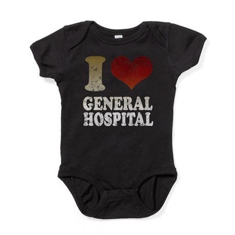IHEARTGENERALHOSPITAL.png Baby Bodysuit