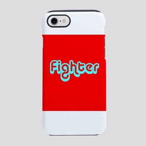 Cancer Fighter Red 4Joanie iPhone 7 Tough Case