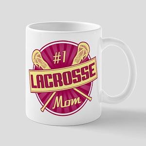 #1 Lacrosse Mom Mug