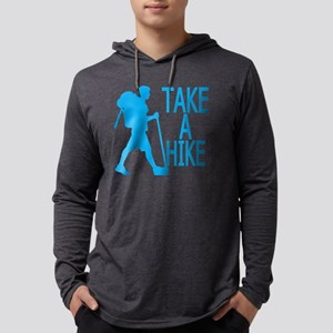 Take A Hike . Mens Hooded Shirt