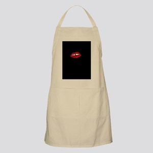 red lips Apron
