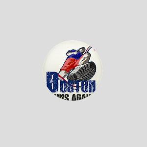 BOSTON RUNS AGAIN (Master) Mini Button