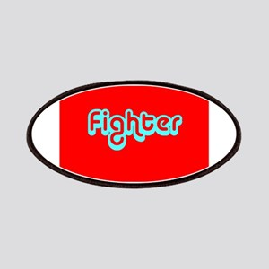 Cancer Fighter Red 4Joanie Patch