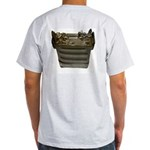 1099 Back - HFpack Green Camo Front - ash grey T