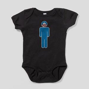 obamahead Baby Bodysuit