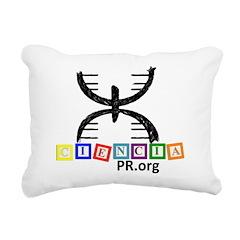 CienciaPR Little Brains Rectangular Canvas Pillow