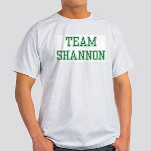 TEAM SHANNON  Ash Grey T-Shirt