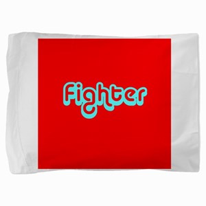 Cancer Fighter Red 4Joanie Pillow Sham