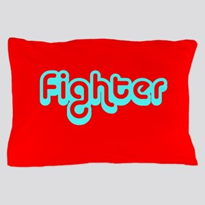 Cancer Fighter Red 4Joanie Pillow Case