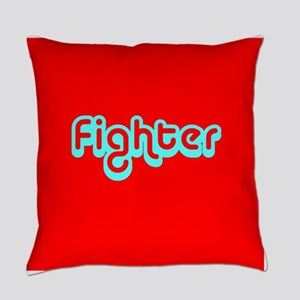 Cancer Fighter Red 4Joanie Everyday Pillow