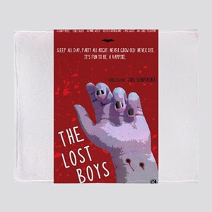 The Lost Boys Movie Poster Throw Blanket