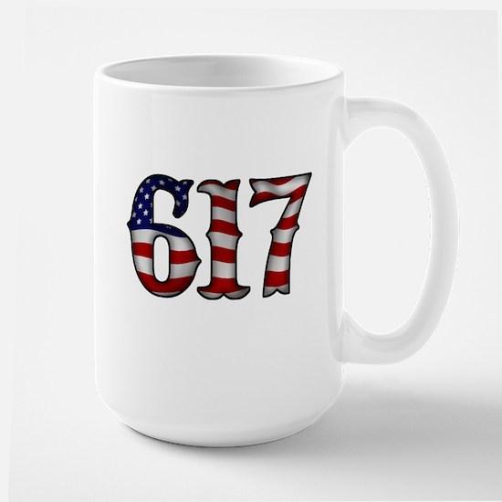 Boston Strong 617 Flag Mug