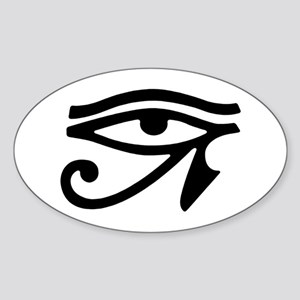Eye of Horus Oval Sticker