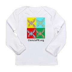 Little Brains: Colorful Long Sleeve Infant T-Shirt