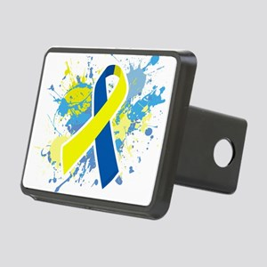 Down Syndrome Splatter Hitch Cover