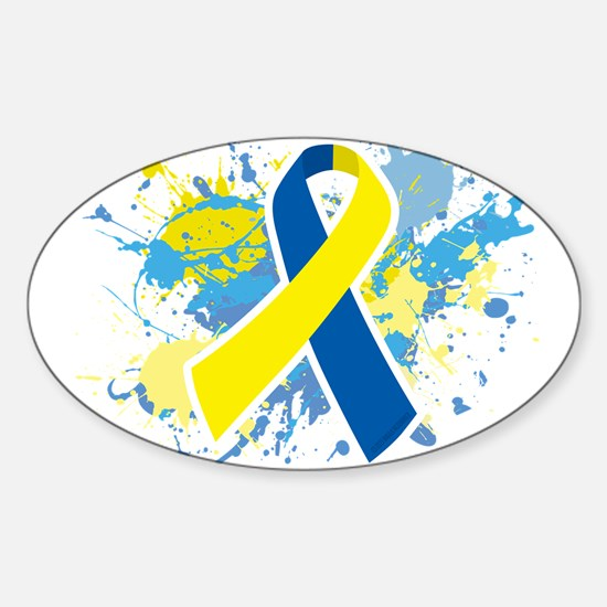Down Syndrome Splatter Decal