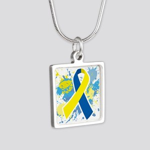 Down Syndrome Splatter Necklaces