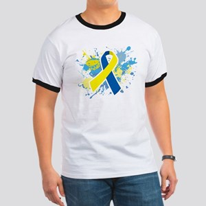 Down Syndrome Splatter T-Shirt