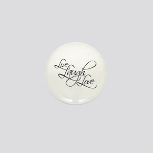 Live, Laugh, Love Mini Button