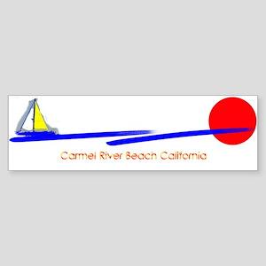 Carmel River Bumper Sticker