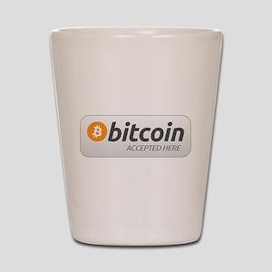 BitcoinAcceptedHere Shot Glass