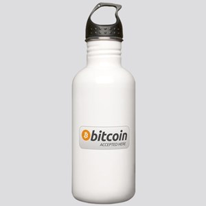 BitcoinAcceptedHere Water Bottle