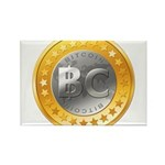 BitcoinEuro Rectangle Magnet