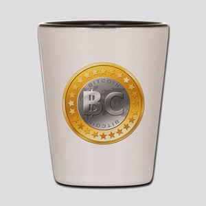 BitcoinEuro Shot Glass