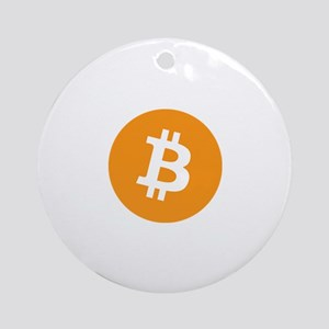 OriginalBitcoinLogo Ornament (Round)