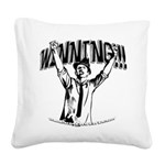 Winning1 Square Canvas Pillow