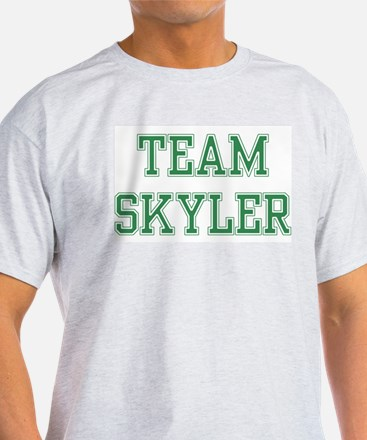 TEAM SKYLER  Ash Grey T-Shirt