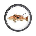 Spotted Bay Bass fish Wall Clock