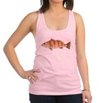 Spotted Bay Bass fish Racerback Tank Top