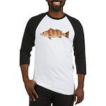 Spotted Bay Bass fish Baseball Jersey