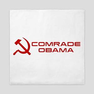 Comrade Obama Queen Duvet