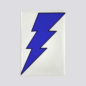 The Lightning Bolt 7 Shop Rectangle Magnet