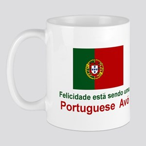 Happy Portuguese Avo (Grandmother) Mug