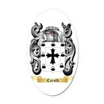 Carulli Oval Car Magnet