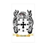 Carulli Sticker (Rectangle 50 pk)