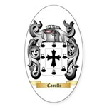Carulli Sticker (Oval 50 pk)