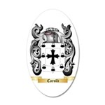 Carulli 20x12 Oval Wall Decal