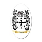 Carucci 20x12 Oval Wall Decal