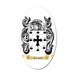 Carucci 35x21 Oval Wall Decal