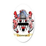 Cartwright Oval Car Magnet