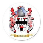 Cartwright Round Car Magnet