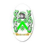 Carttar 35x21 Oval Wall Decal