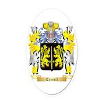 Carroll Oval Car Magnet